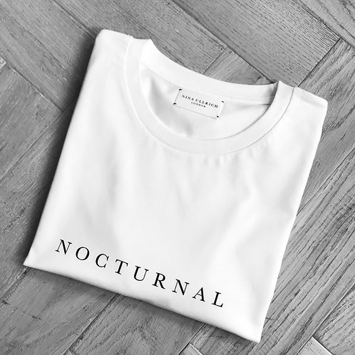 NOCTURNAL t-shirt (white)