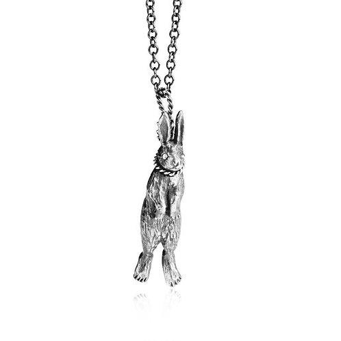 Hanging Rabbit Necklace