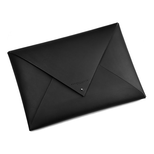 Leather Envelope Clutch (large)