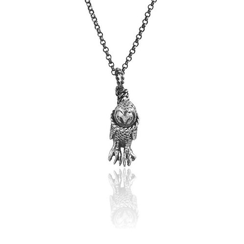 Hanging Owl Necklace