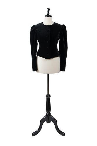 Vintage Velvet Short Jacket