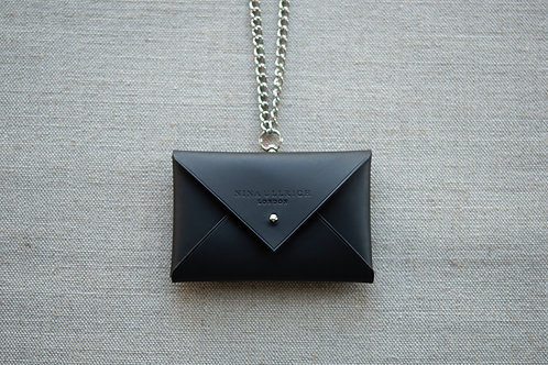 Sample Leather Envelope Purse with Chain