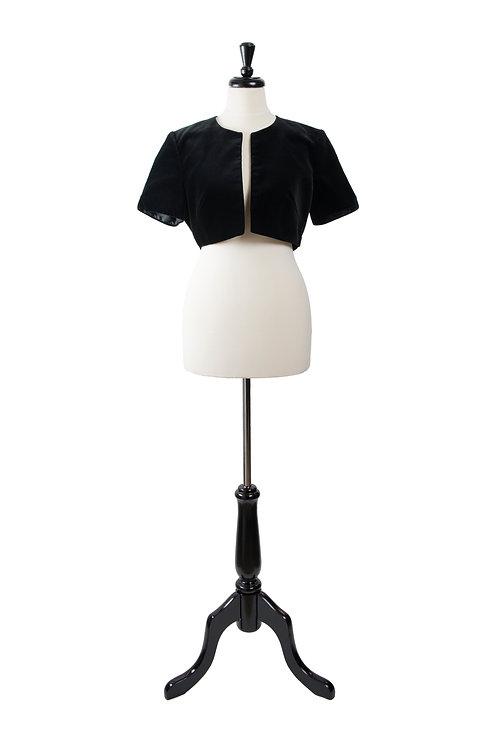 Vintage Velvet Bolero Jacket