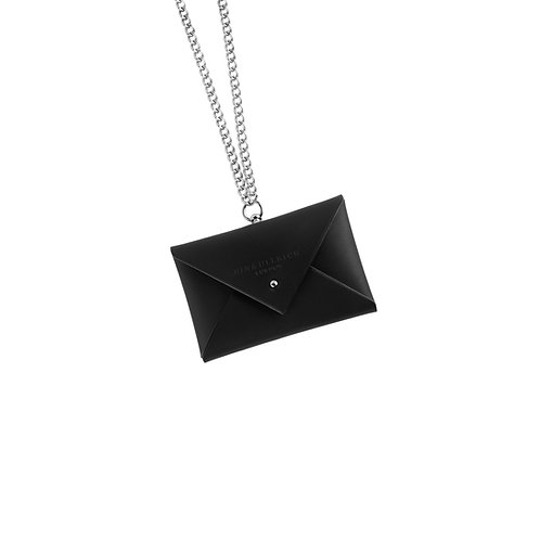 Leather Envelope Purse with Chain (mini)