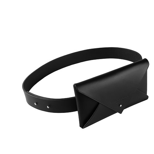Leather Envelope Belt Clutch (small)