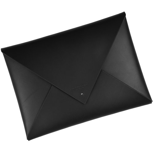 Leather Envelope Clutch (document)