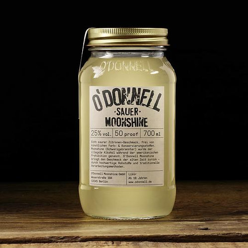 """Sauer""  - O'Donnell Moonshine - 700ml"