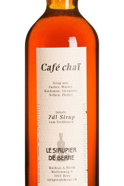 Cafe Chaï | Le Sirupier de Berne | 0.35l
