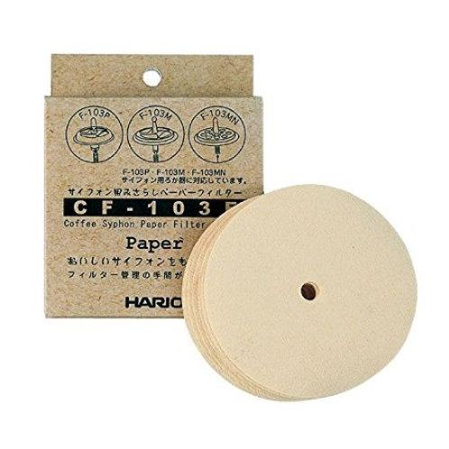 HARIO Papierfitler für Coffee Syphon