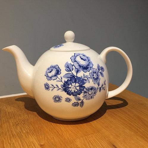 "Tee Kanne ""blaue Rosen"""