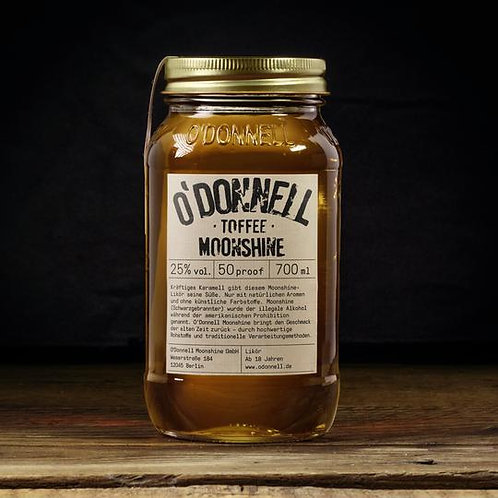 """""""Toffee""""  - O'Donnell Moonshine - 700ml"""