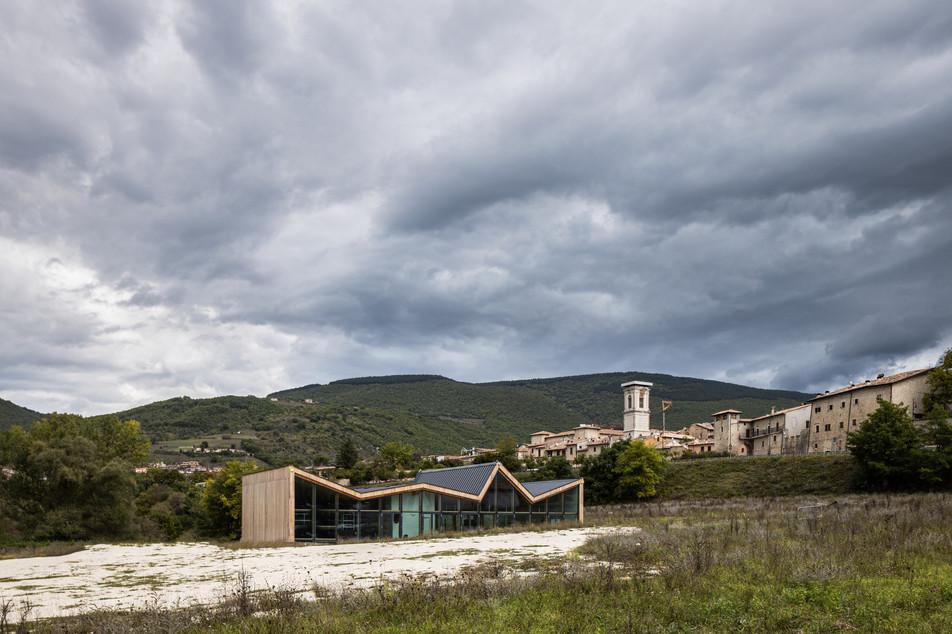 Il centro polivalente di protezione civile - Stefano Boeri