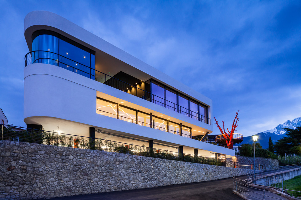 Hotel Gartner - Monovolume Architecture
