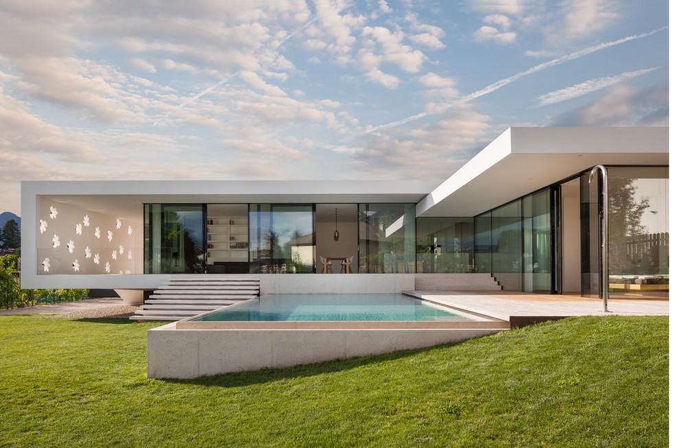 Villa T - Monovolume Architecture