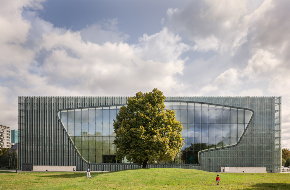 Museum of the History of Polish Jews - Lahdelma & Mahlamäki Architects