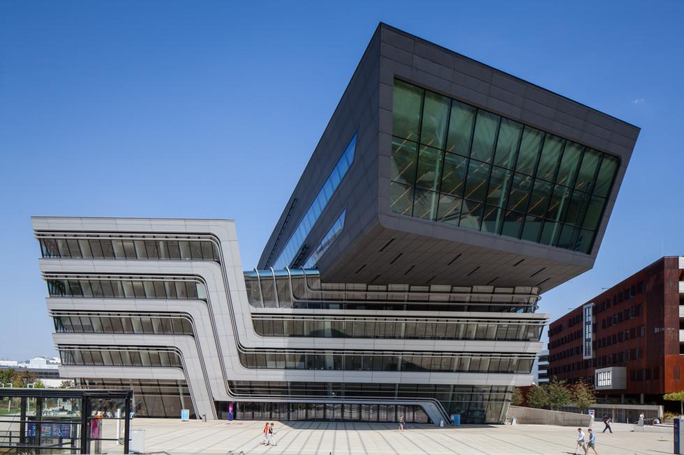Library & Learning Center -  Zaha Hadid Architecture