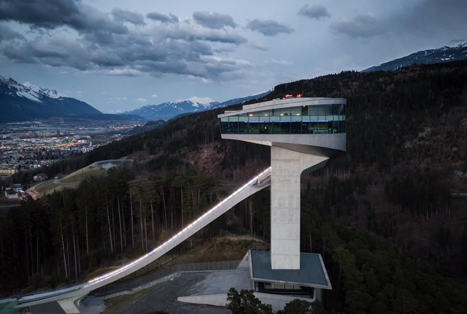 Ski Jump - Nordpark Cable Railway - Zaha Hadid Architects
