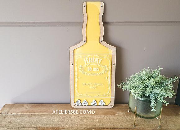 Livre d'or bouteille de Whiskey pour anniversaire 30 ans