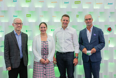 David Bosshart, Chantal Beck, Matthias Zurflüh und Daniel Küng