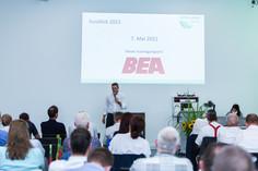 Matthias Zurflüh beim Ausblick auf das Swiss Agro Forum 2021