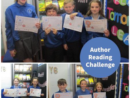 Author Reading Challenge!