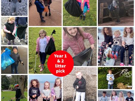 Year 1 and 2 Coastal Clean