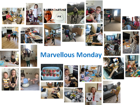 Marvellous Monday in Action!