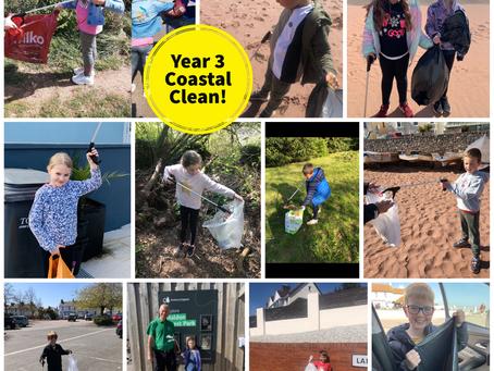 Year 3 Coastal Clean!
