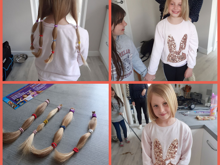 Hair Donation to Little Princess Trust