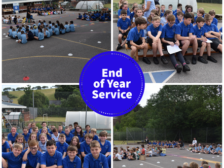 End of Year Service
