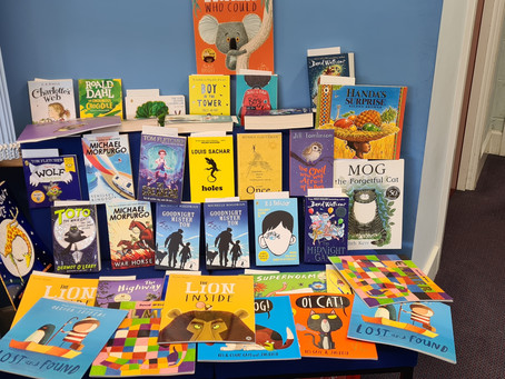 Thank you for your book donations
