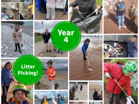 Year 4 Beach Clean!