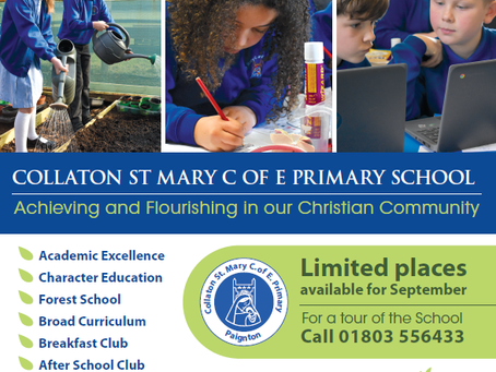Is your child starting school in September?