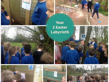 Year 2 Easter Labyrinth
