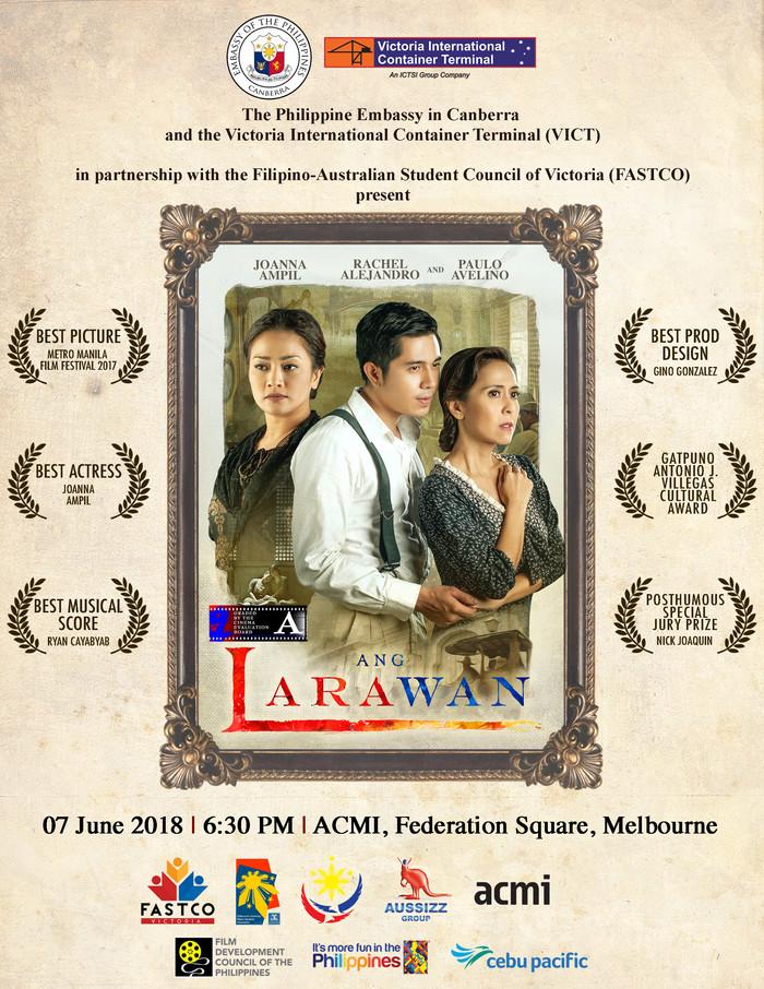 Ang Larawan Screening in Melbourne