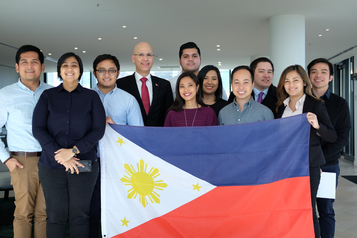 PH honorary consul Pintado swears in new FASTCO officers