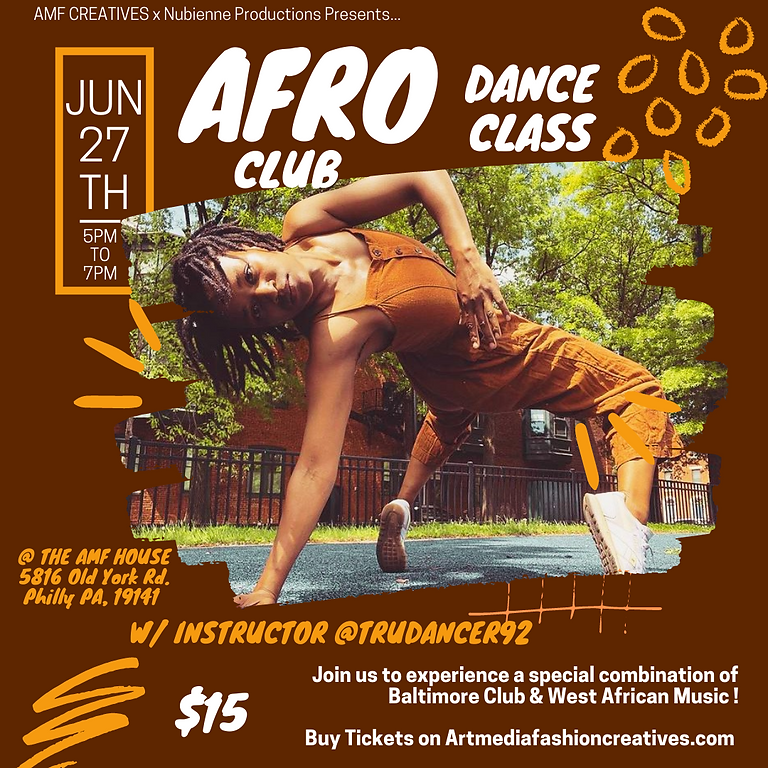 Afro Club Dance Class