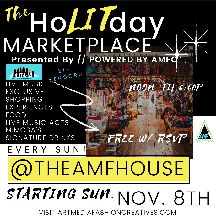 HoLITday Marketplace { Dec. 13th}