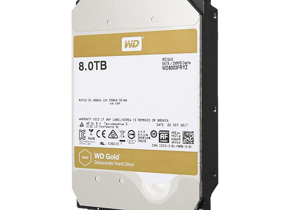 Disco Duro Enterprise 8TB WD GOLD