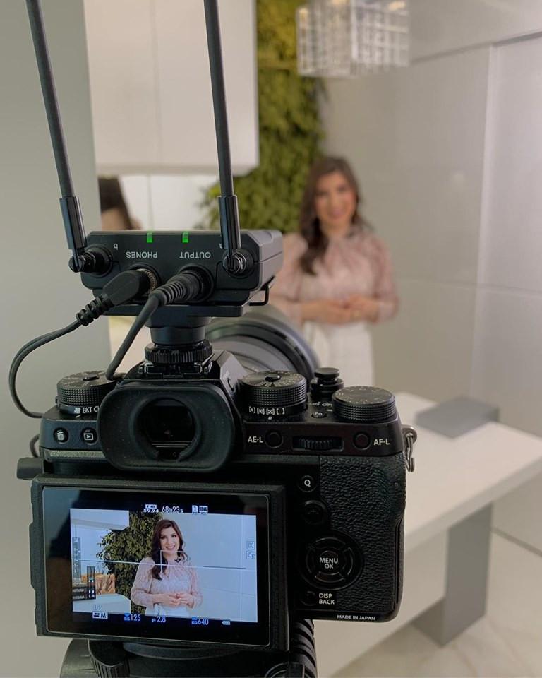 gravação Dra. Pauline Lyrio - Dermatologista