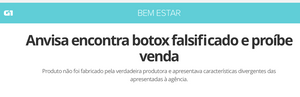 reportagem botox