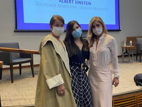 Iniciando a Pós-graduação de Cosmiatria do Hospital Albert Einstein
