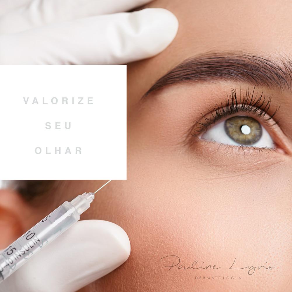 procedimentos area dos olhos