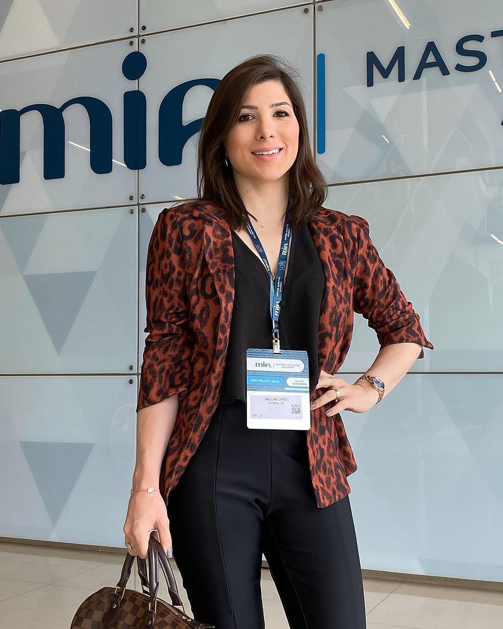 Dra. Pauline Lyrio - congresso
