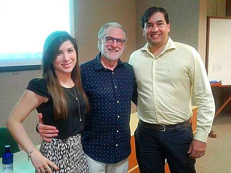 Dra. Pauline Lyrio palestrou durante encontro promovido pela Sociedade Brasileira de Dermatologia -