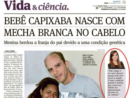Reportagem do jornal A Gazeta