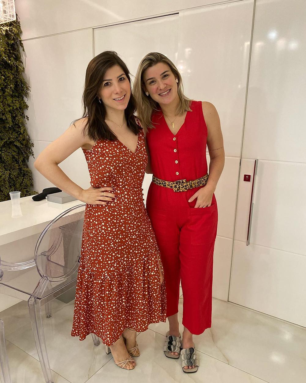 Dra. Pauline Lyrio e Amanda Daher