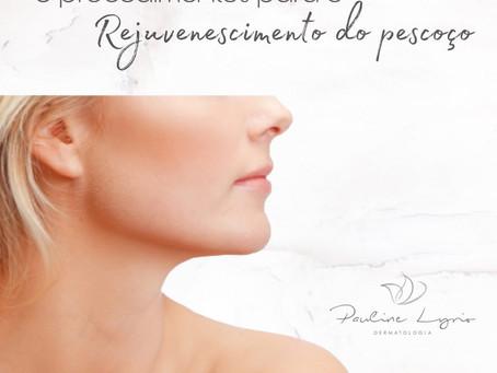 5 procedimentos para rejuvenescimento do pescoço