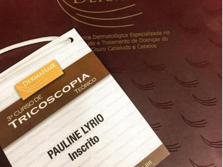 Curso de Tricoscopia, em São Paulo.