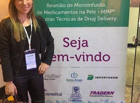 A dermatologista Pauline Lyrio participou do curso de MMP, em São Paulo